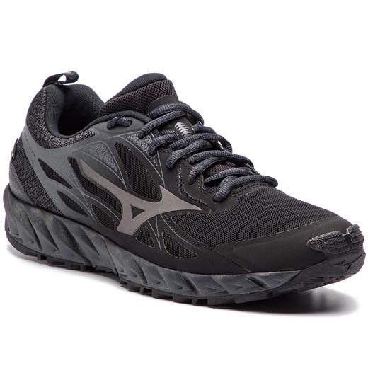 Buty sportowe męskie Mizuno wave wiosenne ze skóry ekologicznej sznurowane