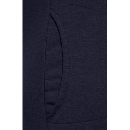 Sukienka midi prosta z elastanu Odzież Damska QY niebieski MXBB