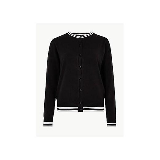 Sweter damski Marks & Spencer casual Odzież Damska MA czarny CQGI