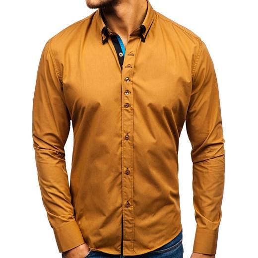 Koszula męska Denley z długim rękawem w Domodi  QIcN3