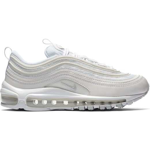 Buty sportowe damskie Nike białe bez wzorów sznurowane w Domodi