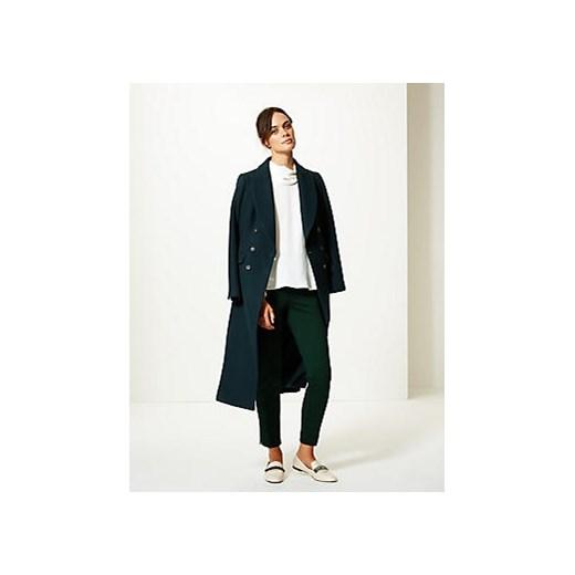 Sweter damski Marks & Spencer - Marks&Spencer Odzież Damska BM granatowy YNPX