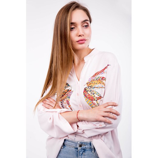 Koszula damska Zoio z napisem w Domodi  RG2wa