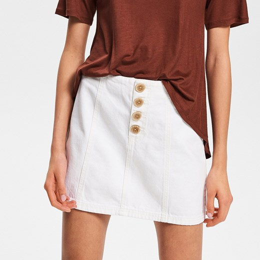 Spódnica Reserved mini biała