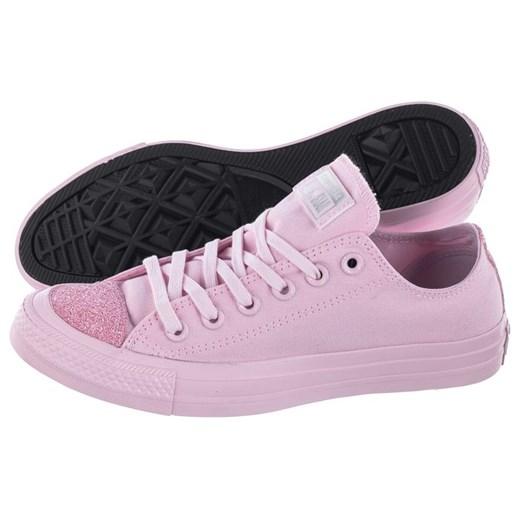Trampki damskie Converse różowe sznurowane w Domodi