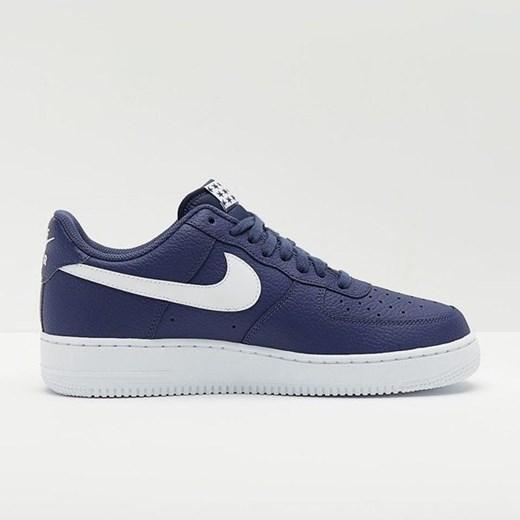 Buty sportowe męskie Nike air force niebieskie sznurowane