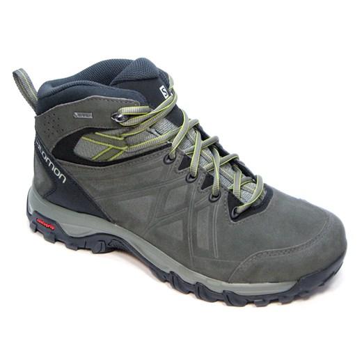Buty trekkingowe męskie Salomon z tworzywa sztucznego sznurowane