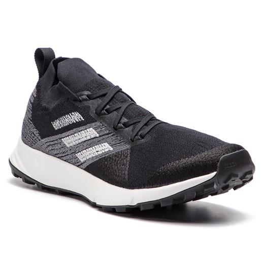 Buty sportowe męskie Adidas terrex granatowe sznurowane