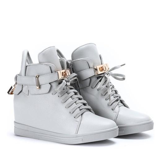 buty jesienne zimowe damskie młodzieżowe na koturnie
