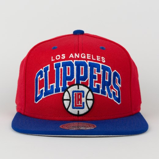 Czapka Mitchell and Ness snapback Team Arch Los Angeles Clippers red / blue  Mitchell And Ness uniwersalny matshop.pl