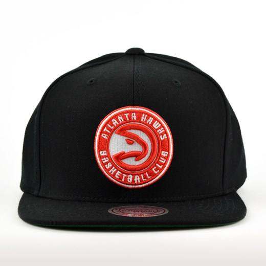 Czapka Mitchell and Ness snapback Solid Team Colour SB Atlanta Hawks black  Mitchell And Ness uniwersalny matshop.pl