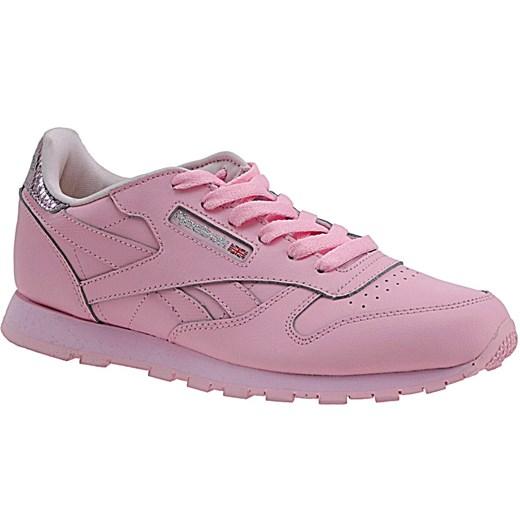Buty sportowe damskie Reebok sneakersy w stylu młodzieżowym sznurowane bez wzorów