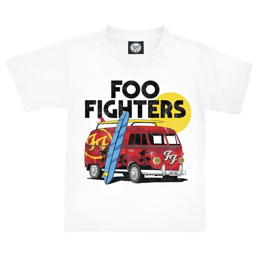 Foo Fighters - Van - T-Shirt - biały