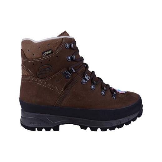 w ofercie Brązowe buty trekkingowe Ecco z płaską podeszwą