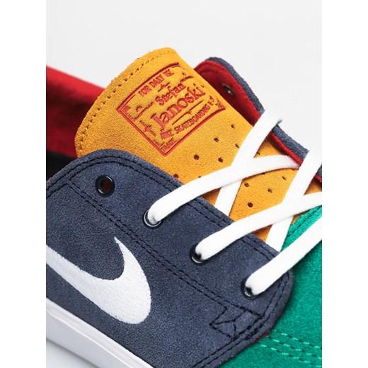 Trampki męskie Nike sb wielokolorowe sznurowane na wiosnę
