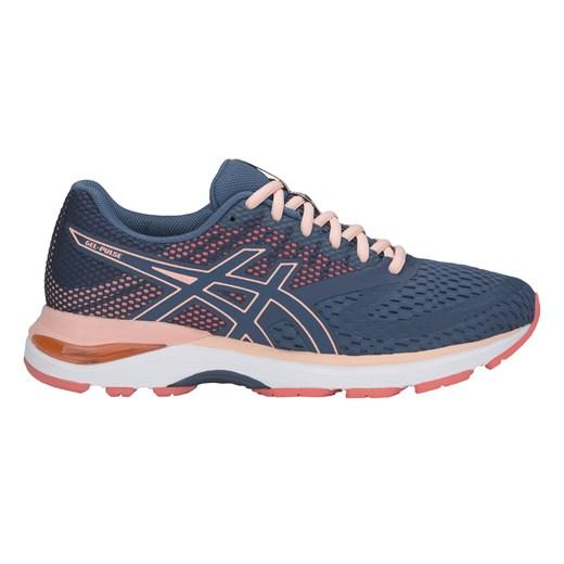 Buty sportowe damskie Asics dla biegaczy na wiosnę płaskie w