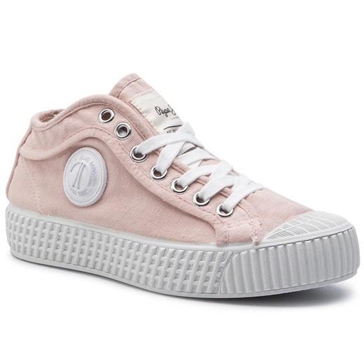 Trampki PEPE JEANS In G Hi Girls PGS30403 Lt Pink 315