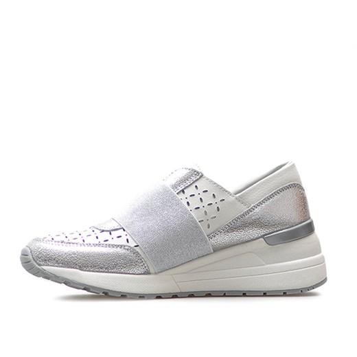 Buty sportowe damskie Lanqier w stylu casual na płaskiej