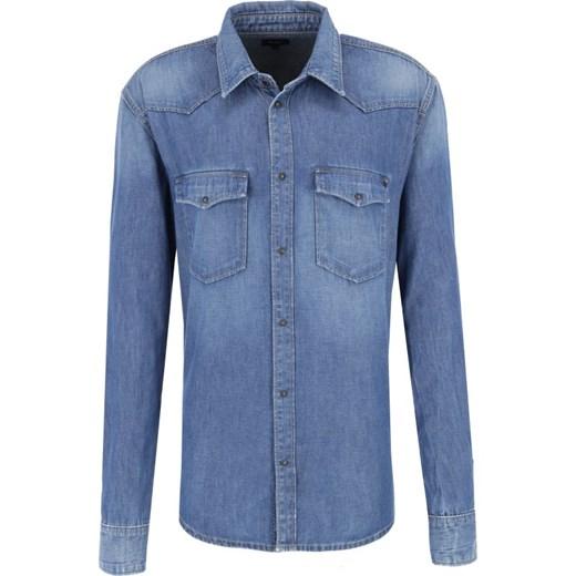 Koszula męska Pepe Jeans z długimi rękawami w Domodi  N29Wy