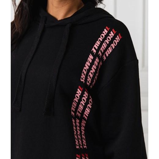 Bluza damska NA KD czarna krótka