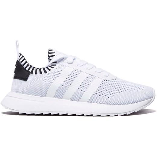 Adidas Originals buty sportowe damskie płaskie białe