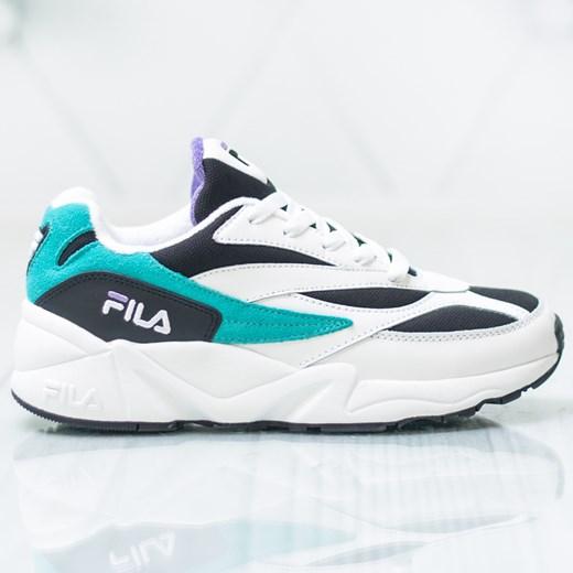 Buty sportowe męskie Fila białe wiązane
