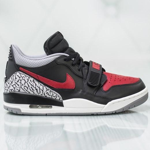 Buty sportowe męskie Jordan nike air na wiosnę sznurowane w
