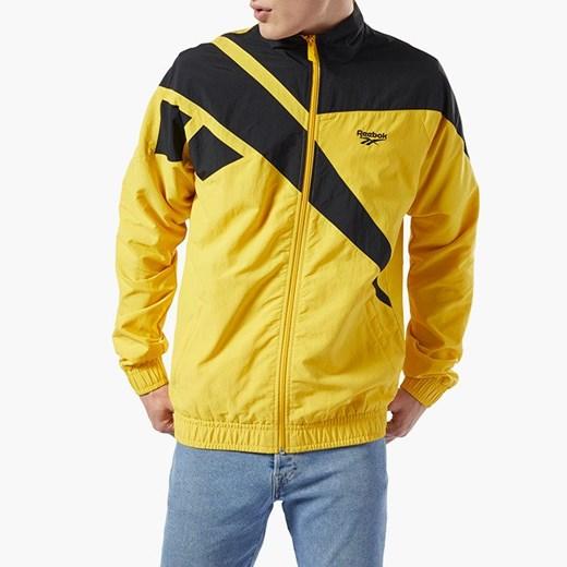 Reebok Classic kurtka męska żółta w sportowym stylu w Domodi