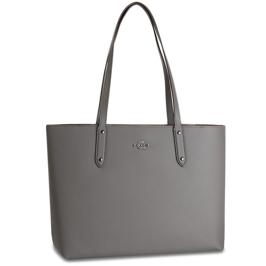 Torebka COACH - Pbbl Cen Tot Zip 69424 GMHGR Heather Gray  Coach  eobuwie.pl