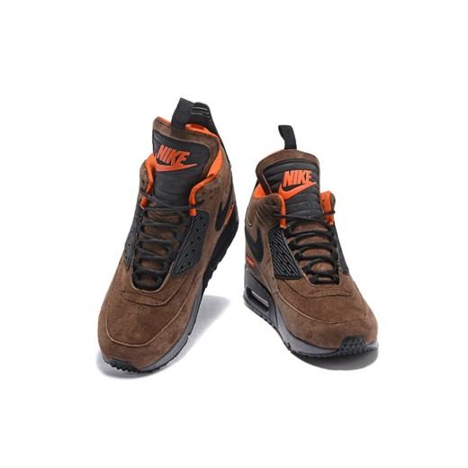 Buty sportowe męskie Nike air max 91 brązowe wiosenne