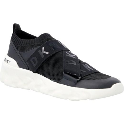 Buty sportowe damskie Dkny sneakersy płaskie na wiosnę bez