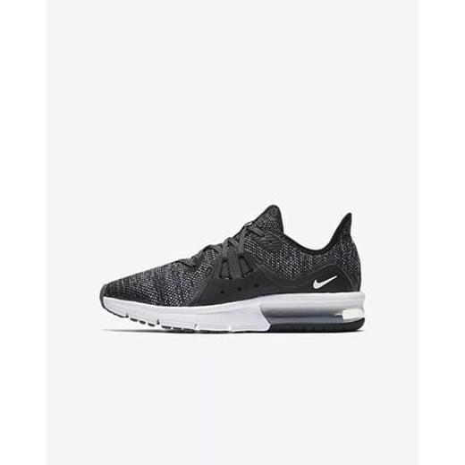 Buty sportowe damskie Nike do biegania air max sequent bez wzorów