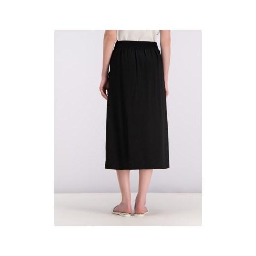 Spódnica Dkny midi czarna elegancka w Domodi