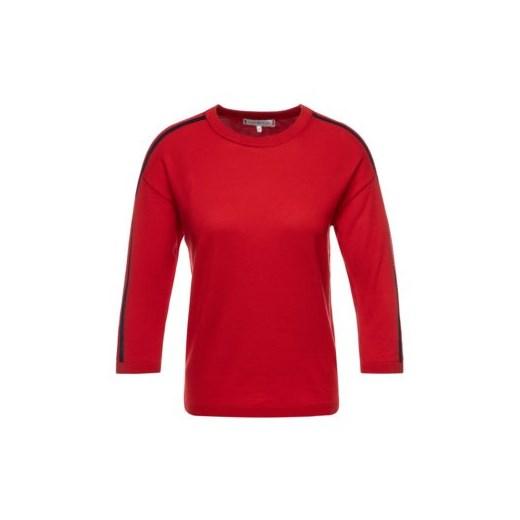 Sweter damski Tommy Hilfiger czerwony z okrągłym dekoltem Odzież Damska CL czerwony WUFM