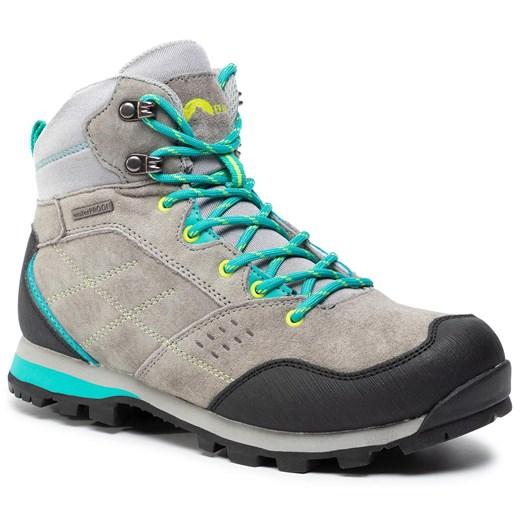 Buty trekkingowe damskie Elbrus płaskie sportowe bez wzorów