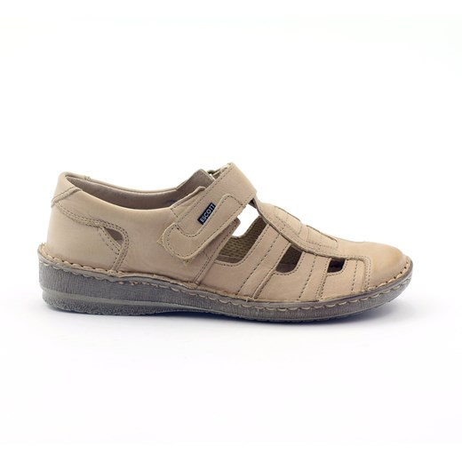Gregors Sandały buty damskie komfortowe Escott 1191 beż