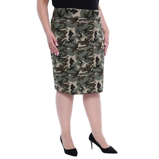 Spódnica damska moro bawełniana ołówkowa