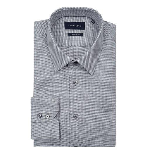 Koszula męska Christian Berg Men gładka z klasycznym  VZ4EE