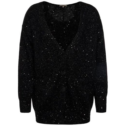 Czarny sweter damski Patrizia Pepe Odzież Damska SR czarny NYHI