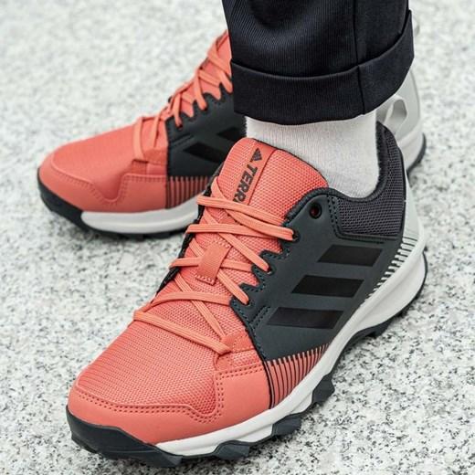 Buty sportowe damskie Adidas do biegania terrex różowe bez