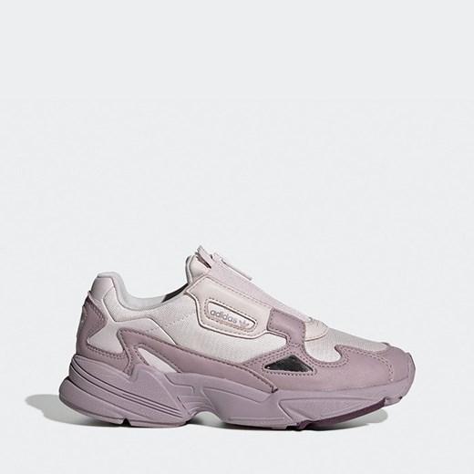 Buty sportowe damskie na platformie bez zapięcia bez wzorów