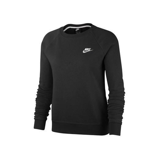 piękny Bluza damska Nike Sportswear biała z dresu krótka