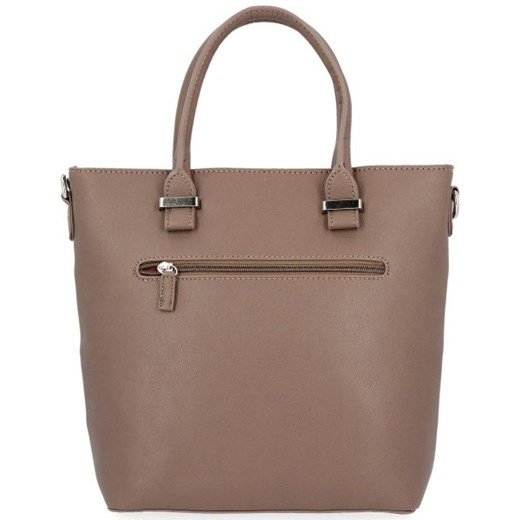 Shopper bag David Jones elegancka do ręki bez dodatków