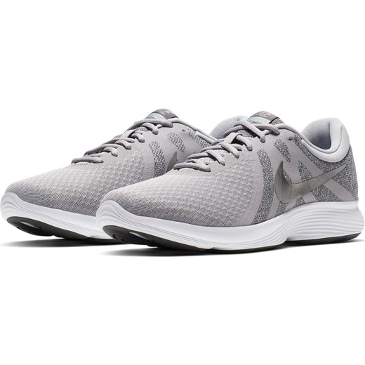 Buty sportowe męskie szare Nike revolution sznurowane w Domodi