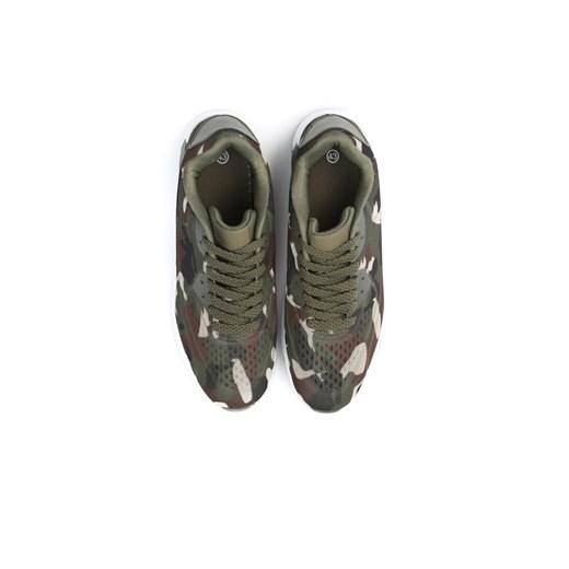 Born2be buty sportowe męskie zielone jesienne
