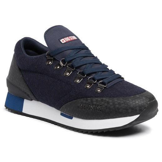 Sneakersy BIG STAR - EE174488 Navy Big Star  45 eobuwie.pl