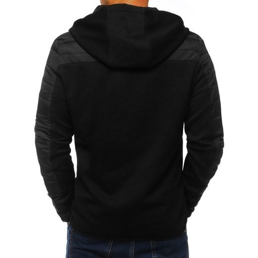 bluza czarna rozpinana męska domodi