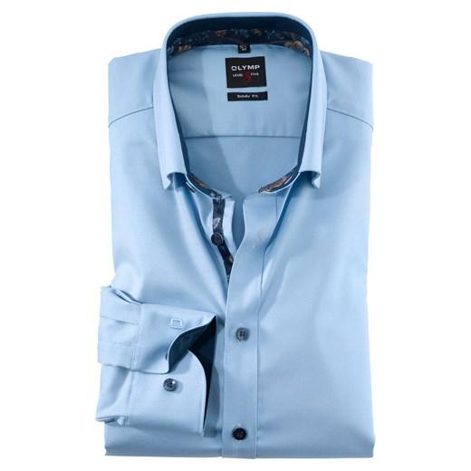 Koszula męska Olymp bawełniana gładka w Domodi