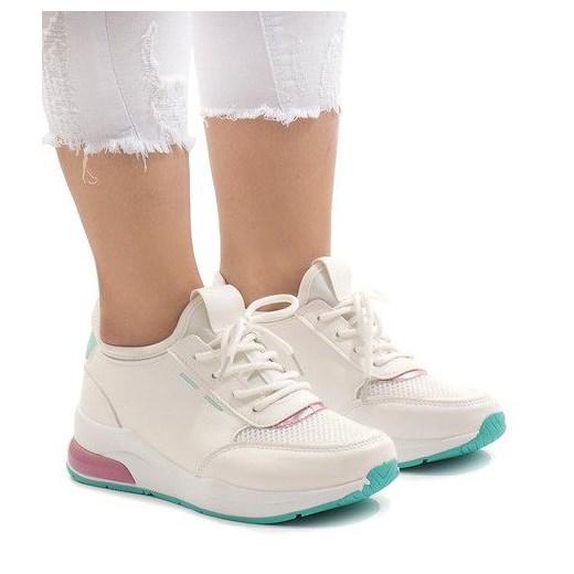 Buty sportowe damskie Butymodne sneakersy młodzieżowe