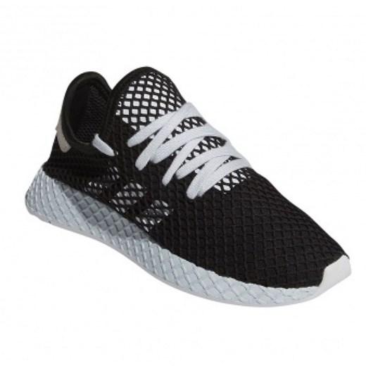 Buty sportowe damskie Adidas płaskie sznurowane w Domodi